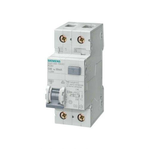 Siemens FI/LS-Schalter Typ A   30mA   C16 5SU1356-7KK16   1 Polig