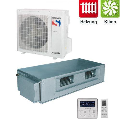 Sinclair Kanalklimagerät DC-Inverter Klimaanlage UNI Baureihe 7kW