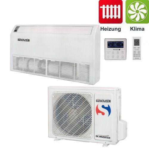 Sinclair Truhen Klimagerät DC-Inverter Klimaanlage UNI Baureihe 10 kW