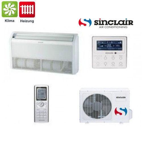 Sinclair Truhen Klimagerät DC-Inverter Klimaanlage UNI Baureihe 5,3 kW