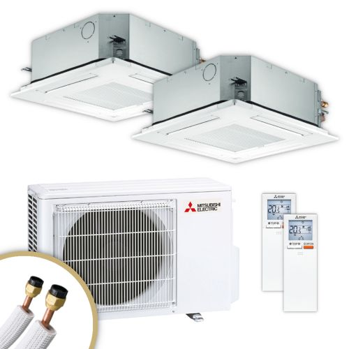 MITSUBISHI | Klimaanlage | SLZ-M | 3,5 kW + 3,5 kW
