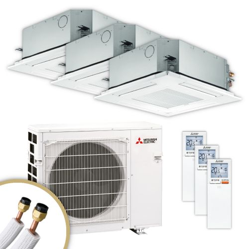 MITSUBISHI | Klimaanlage | SLZ-M | 2× 2,5 kW + 3,5 kW