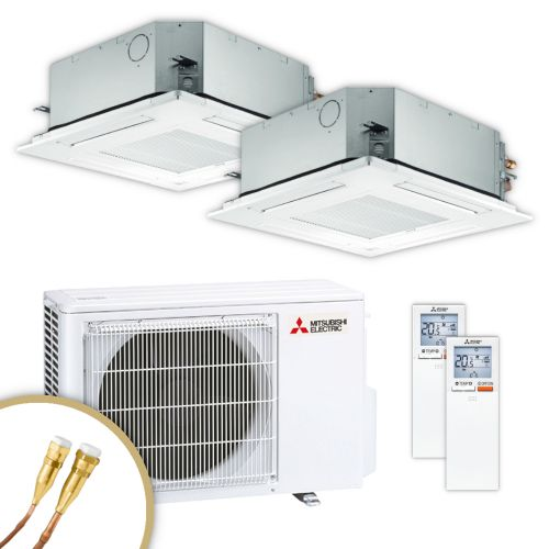 MITSUBISHI | Klimaanlage | SLZ-M | 2,5 kW + 2,5 kW | Quick-Connect