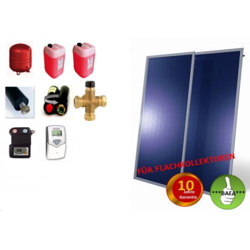 Solardual- Solarpaket Standard (4,84m²) mit Flachkollektor