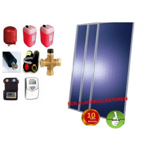 Solardual- Solarpaket Standard (7,26m²) mit Flachkollektor