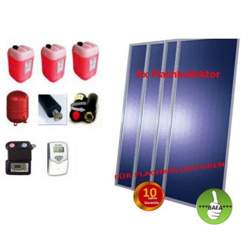 Solardual - Solarpaket Premium (19,36m²) mit Flachkollektor
