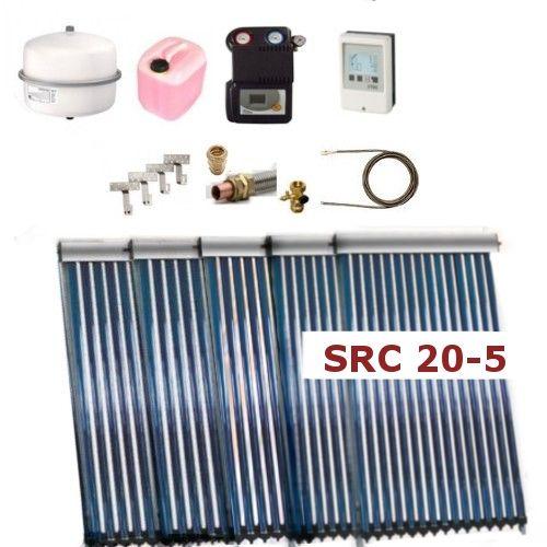 Solarpaket Thermoflux SRC 20 mit Vakuumröhrenkollektoren