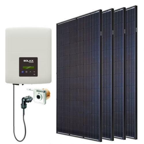 Minisolar | Balkonsolar Set | 1280 Watt | inkl. Einspeisesteckdose