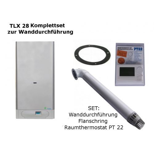 Gastherme Therm 28 TLX mit 13 - 28 kW WAND-SET
