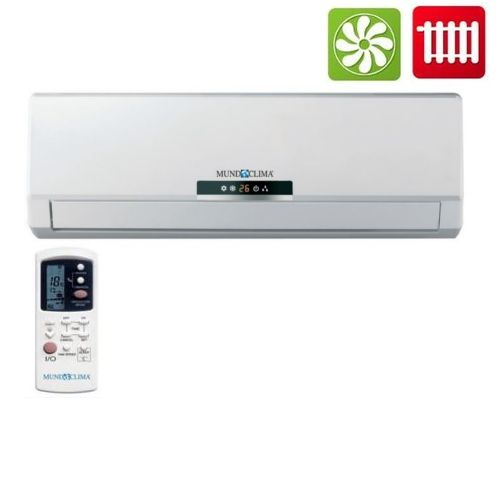 Klimagerät DC Inverter Wandgerät Multisplit Innenteil Mundoklima 3,5 kW