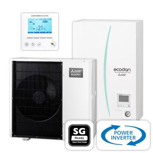MITSUBISHI | Ecodan Wärmepumpen-Set 2.14 | Power Inverter | 12,0 kW