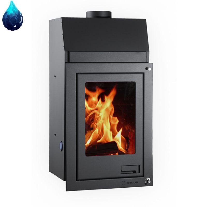 kamin mit wassertasche 12 kw aquaflam flat kaufen bei. Black Bedroom Furniture Sets. Home Design Ideas
