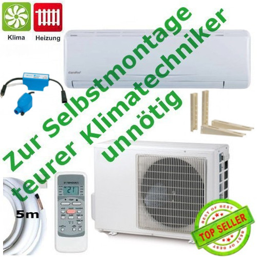 split klimaanlage msr23 18hrdn1 qe comfee dc inverter 4 8 kw komplettset ebay. Black Bedroom Furniture Sets. Home Design Ideas