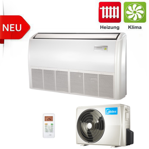 klimaanlage truhenklimaanlage dc inverter midea 5 6kw set ebay. Black Bedroom Furniture Sets. Home Design Ideas