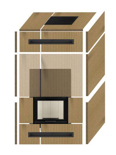 kaminbausatz kaminverkleidung selbstbausatz universell set 2 selber bauen ebay. Black Bedroom Furniture Sets. Home Design Ideas