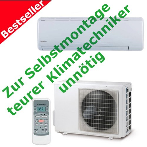 split klimager te midea inverter 3 2 kw klimaanlage zur selbstmontage vorgef llt. Black Bedroom Furniture Sets. Home Design Ideas