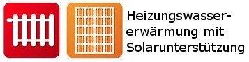 Heizungswasser + Solar