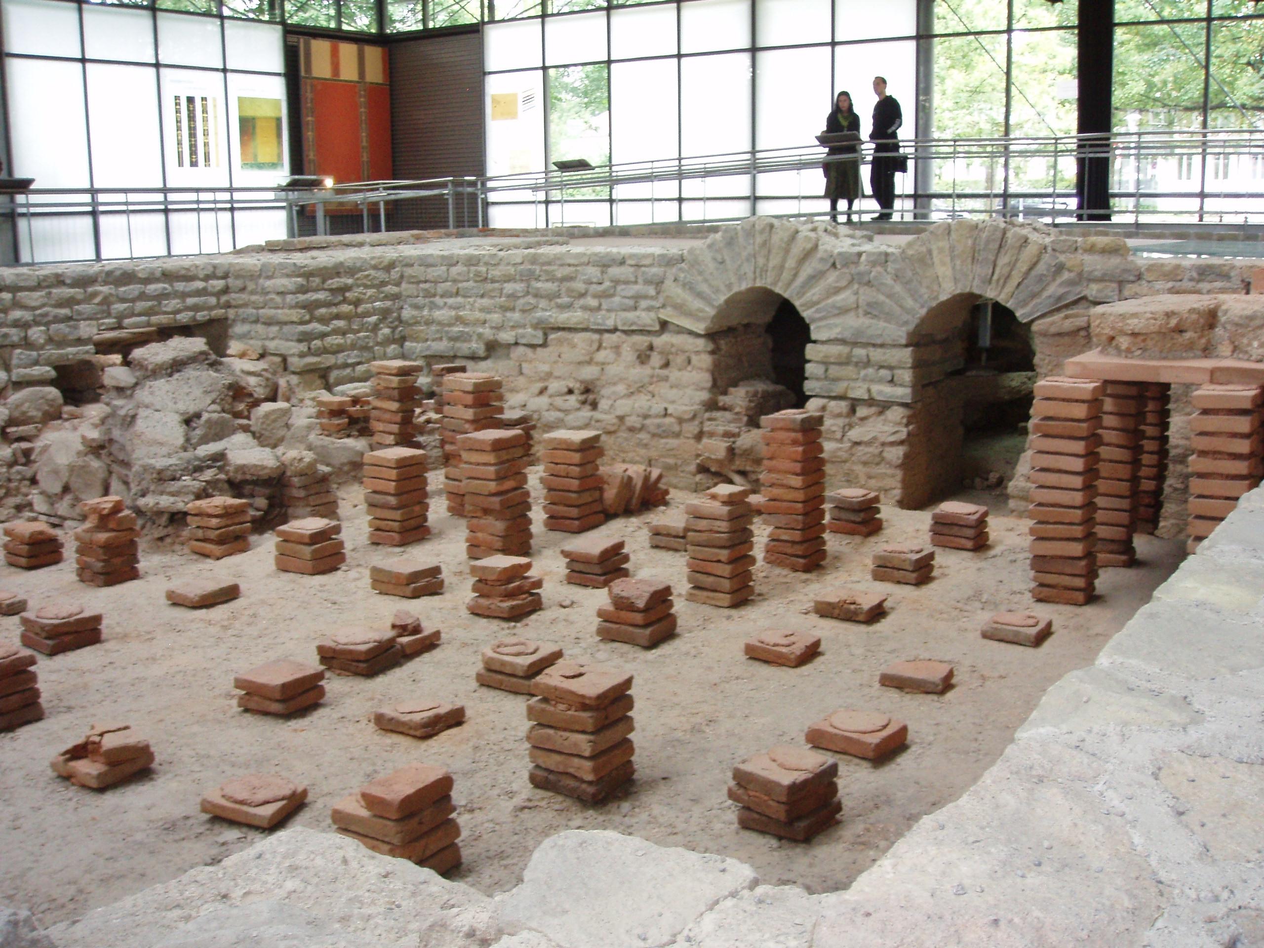 Hypokausten wärmten schon den Römern die Füße