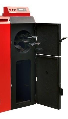Die Turbulatoren im Inneren des Heizkessels